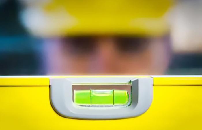 تراز زرد رنگ تنظیم