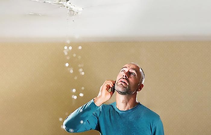 چکه کردن سقف