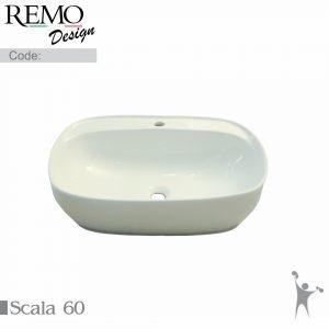 کاسه-روشویی-رو سنگی-رو-کابینتی-با-جای-شیر-رمو-دیزاین-مدل-اسکالا-60-Scala-60-Product
